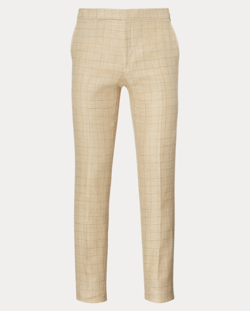 luxury fashion outlet store sale online sale Polo Silk-Linen Trouser