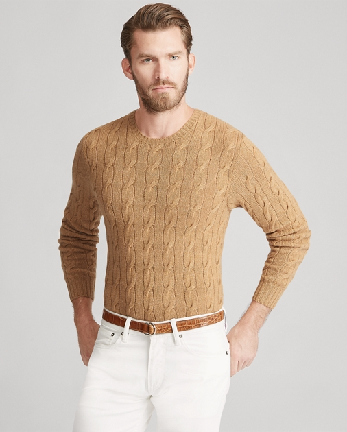 d3ac9eafca Cable-Knit Cashmere Sweater