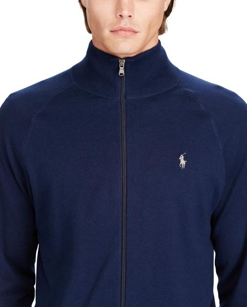 a454d943b08 Polo Ralph Lauren Cotton Full-Zip Sweater 5