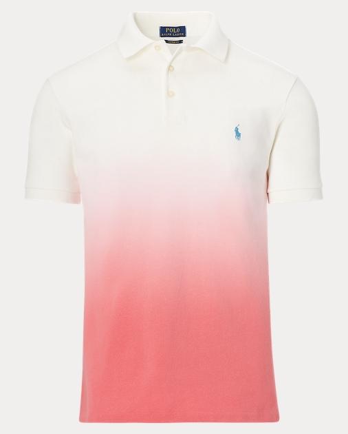 63d0c1b11 Custom Fit Mesh Polo Shirt   Custom Slim Polo Shirts   Ralph Lauren