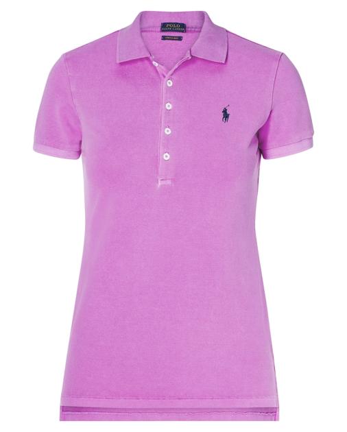 7652c85d Skinny Fit Stretch Mesh Polo | Polo Shirts Women | Ralph Lauren