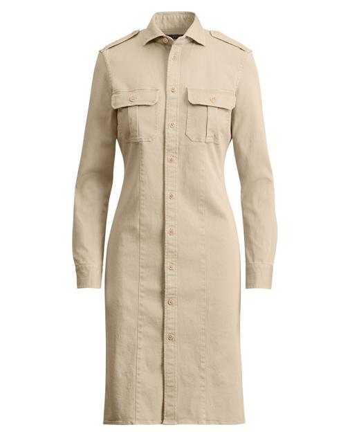 1cd82441cac Polo Ralph Lauren Cotton Twill Shirtdress 1
