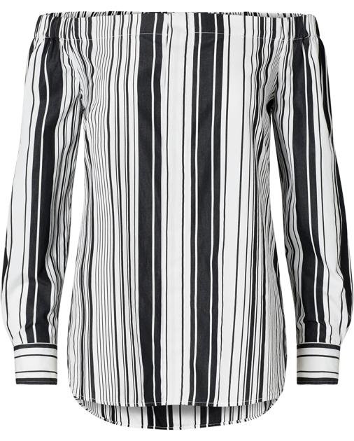 935934f1e0c387 Polo Ralph Lauren Striped Off-the-Shoulder Top 1