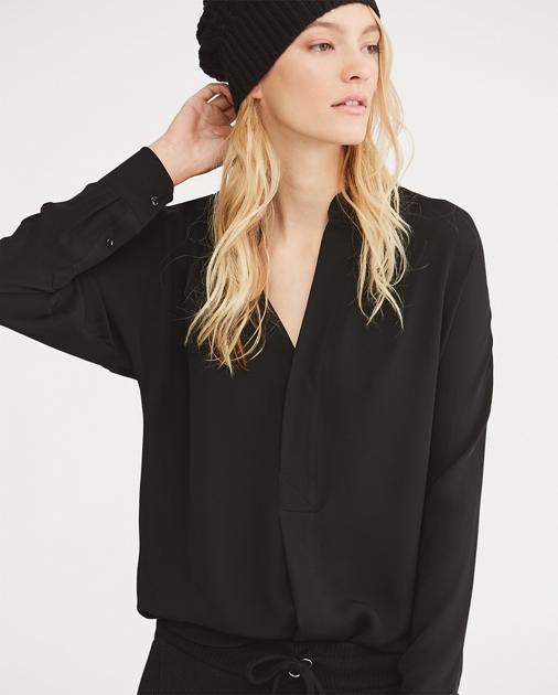 248dd043b4ef92 Silk Georgette Shirt   Button Downs Shirts & Tops   Ralph Lauren