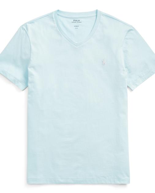 da0edafd7 Polo Ralph Lauren Custom Fit Cotton T-Shirt 1