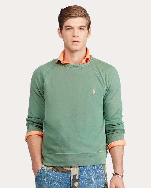 d3ade2c87 Polo Ralph Lauren Cotton Spa Terry Sweatshirt 1