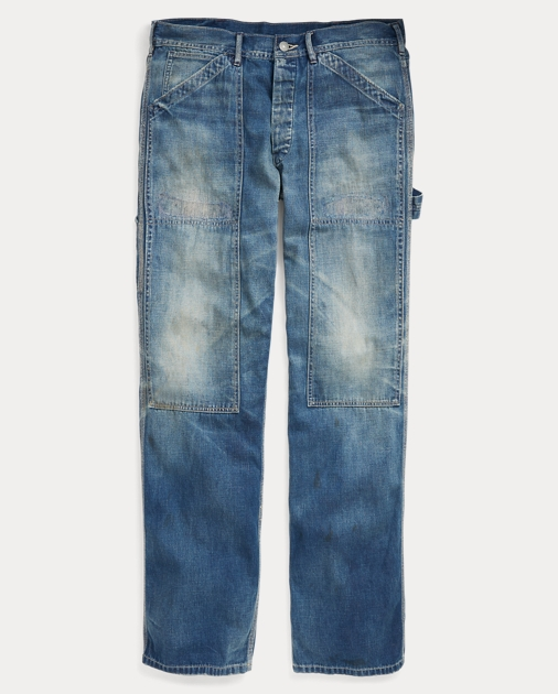 153d0f3d80 Denim Carpenter Pant | Straight Jeans | Ralph Lauren