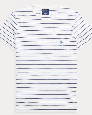 Custom Fit Striped T-Shirt