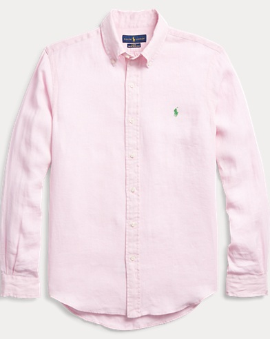 Slim Fit Ocean-Wash Shirt