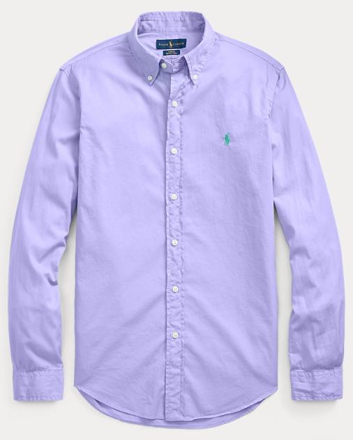 6dc539b54de10d Polo Ralph Lauren Slim Fit Beach Twill Shirt 1