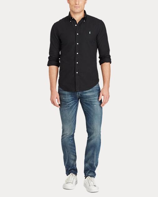 28d1c35d400 Polo Ralph Lauren Slim Fit Cotton Oxford Shirt 2