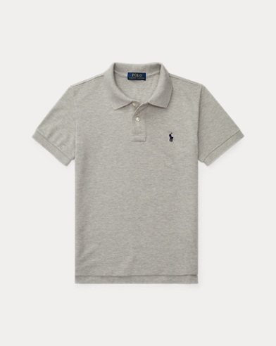 Polo in cotone Custom-Fit