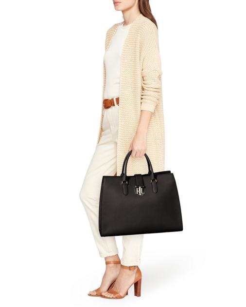 f34f30c4f7 Lauren Pebbled Leather Brigitte Tote 5