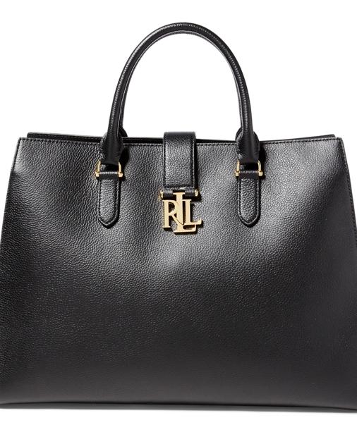 Lauren Pebbled Leather Brigitte Tote 1 3fba1e7032ae3