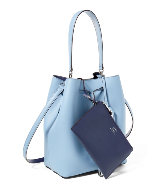 f30c7deb50df Lauren Leather Debby Drawstring Bag 3
