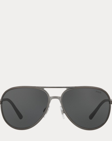 Polo Color-Blocked Sunglasses