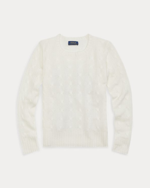 Classic Cable Cashmere Jumper
