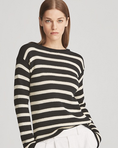 Striped Rollneck Jumper