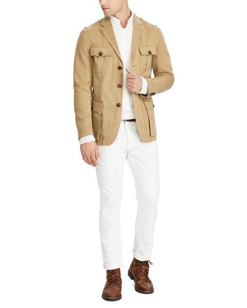 edfa5d2a7 Polo Ralph Lauren Cotton-Linen Safari Jacket 2