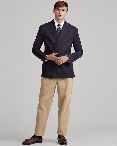 Polo Stretch Wool Blazer