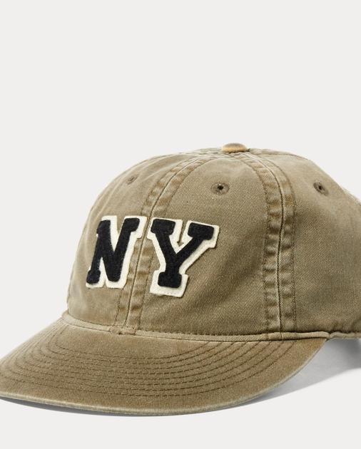 acb788193 Polo Ralph Lauren NY Cotton Chino Baseball Cap 1
