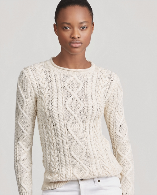 d3bc746a45e5 Hand-Knit Aran Sweater