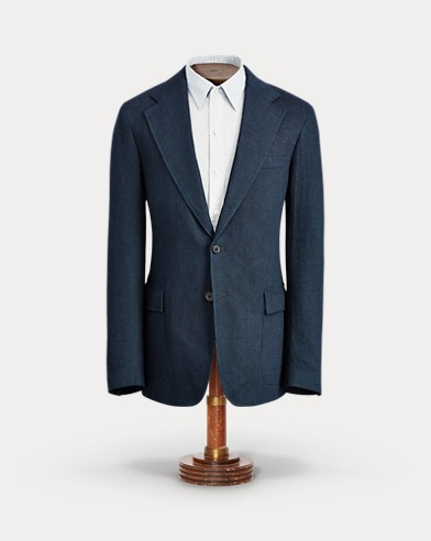 Indigo Cotton Sport Coat
