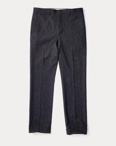 Slim Fit Merino-Blend Trouser