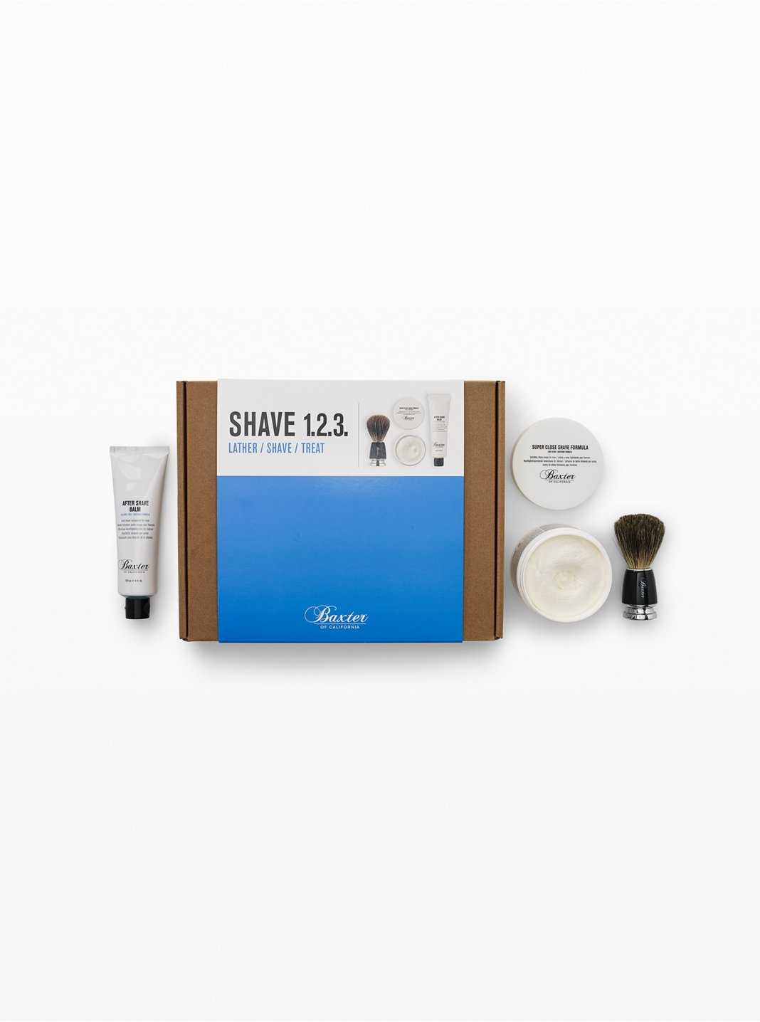 Baxter Shave 123 Kit