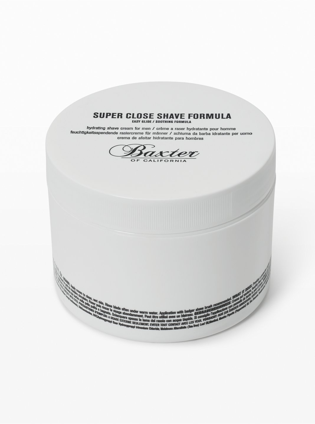 Baxter Close Shave Cream