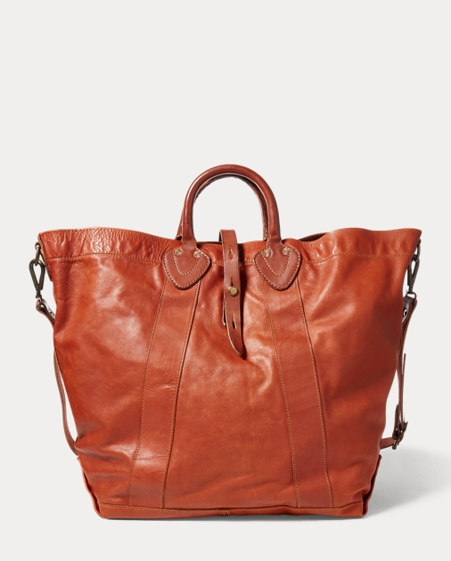 RRL Tumbled Leather Tote 1 44233604792d1
