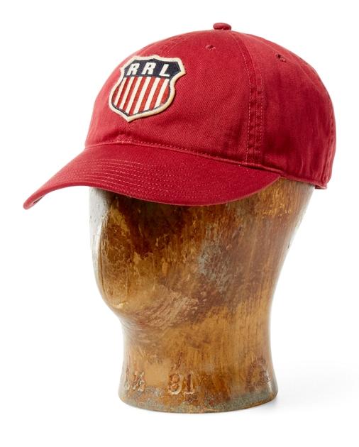 022d48d7 RRL Twill Snap-Back Ball Cap 1