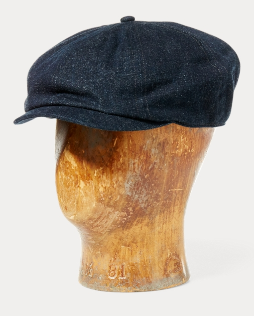 Denim Newsboy Cap 2baa5850dbc