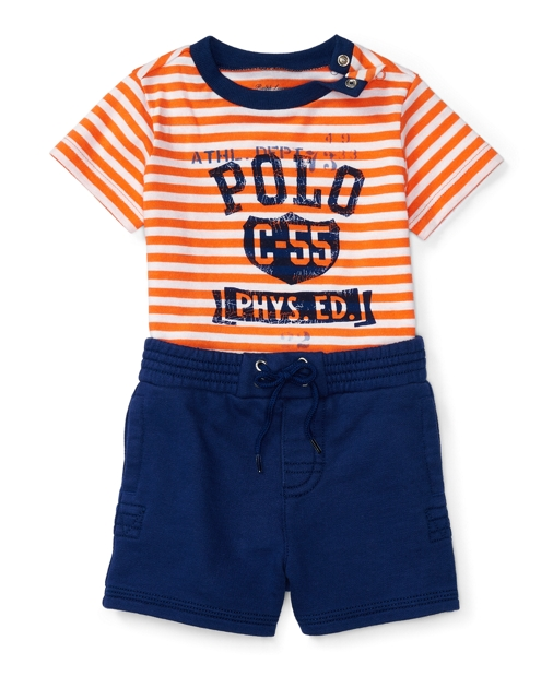 091a74bdfa Graphic Tee & Short Set | Outfits & Gift Sets Baby | Ralph Lauren