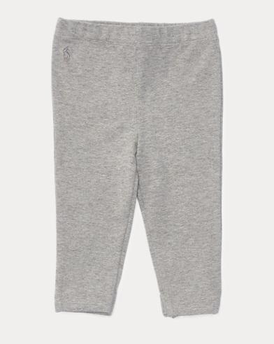 Bow-Back Jersey Legging