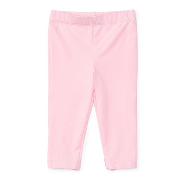 Ralph Lauren Bow-Back Jersey Legging Carmel Pink 12M