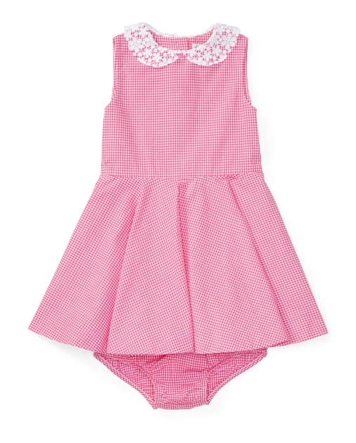 fa18131969 Gingham Cotton Dress & Bloomer | Dresses BABY GIRL (0-24 months ...