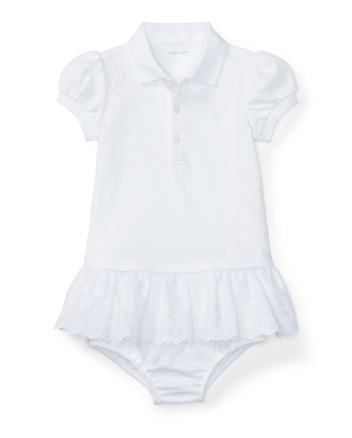 316bc63578 Eyelet Polo Dress & Bloomer | Dresses BABY GIRL (0-24 months ...