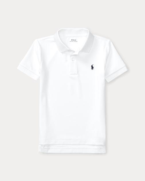 BOYS 1.5-6 YEARS Performance Jersey Polo Shirt 1