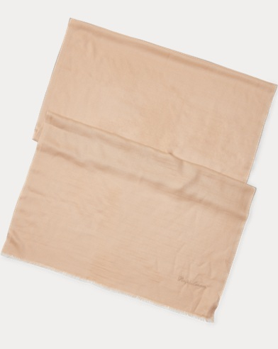 Écharpe en cachemire et soie