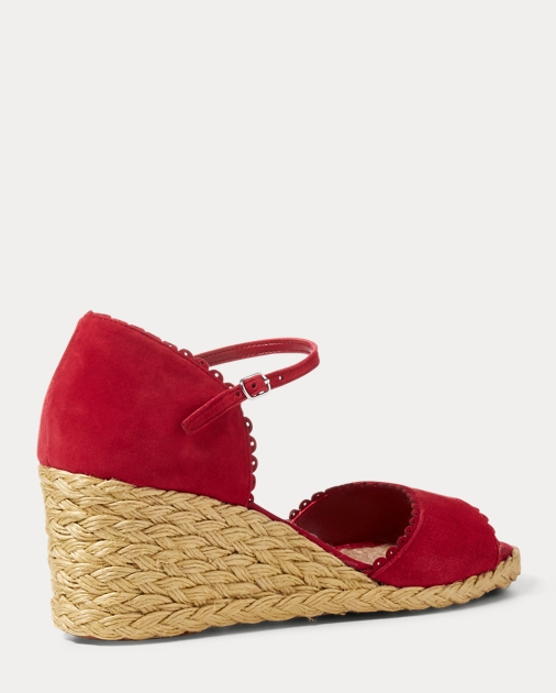 2c8f4ab62adb Chrissie Suede Espadrille | All Shoes Shoes | Ralph Lauren
