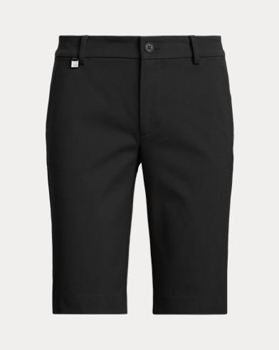 Shorts aus Bi-Stretch-Twill