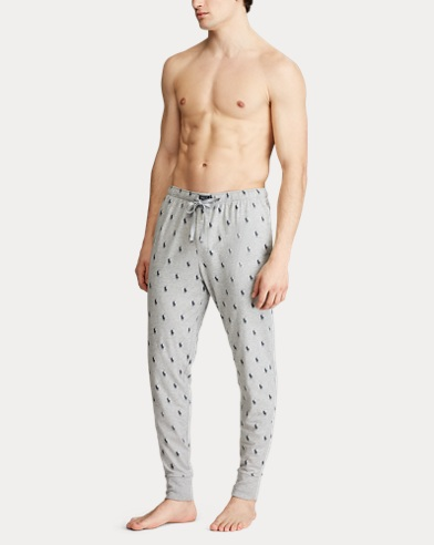 Allover Pony Cotton Jogger