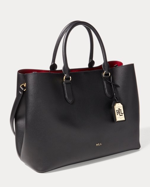 7278e670cb Lauren Leather Marcy Tote 2