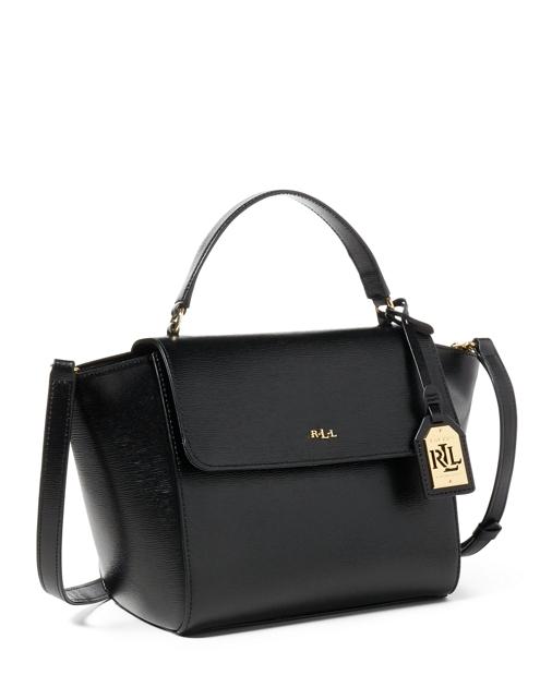 a910b35cadd6 Lauren Leather Barclay Crossbody Bag 2
