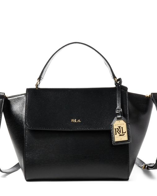 332801a148f1 Lauren Leather Barclay Crossbody Bag 1