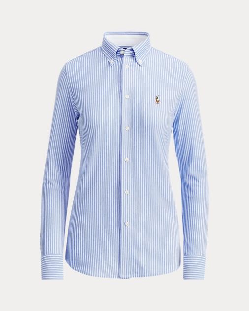 ca6c1c55ee27b4 Polo Ralph Lauren Baumwollpiqué-Oxford mit Streifen 2