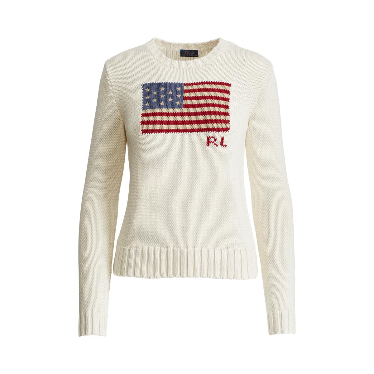 3c01ab7d33 Flag Cotton Sweater