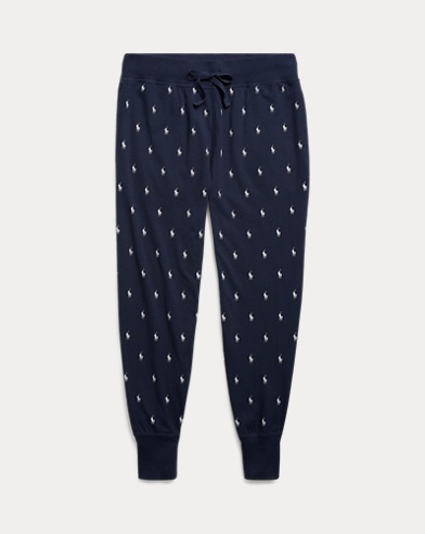 Allover Pony Sleep Jogger