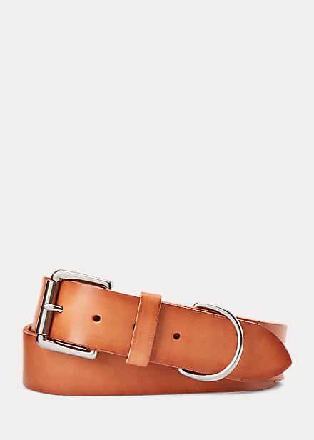 Polo RalphLauren Equestrian Leather Belt